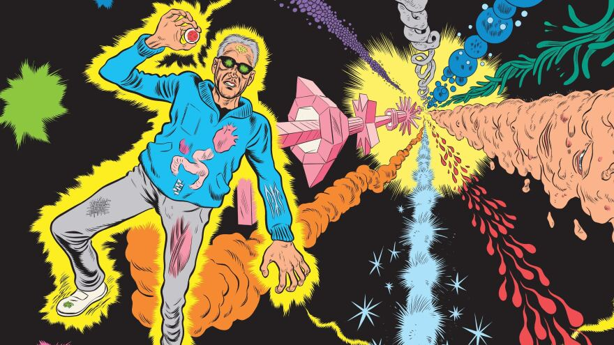 In Daniel Clowes' <em>Patience</em>, a man turns to time travel after his true love is murdered.