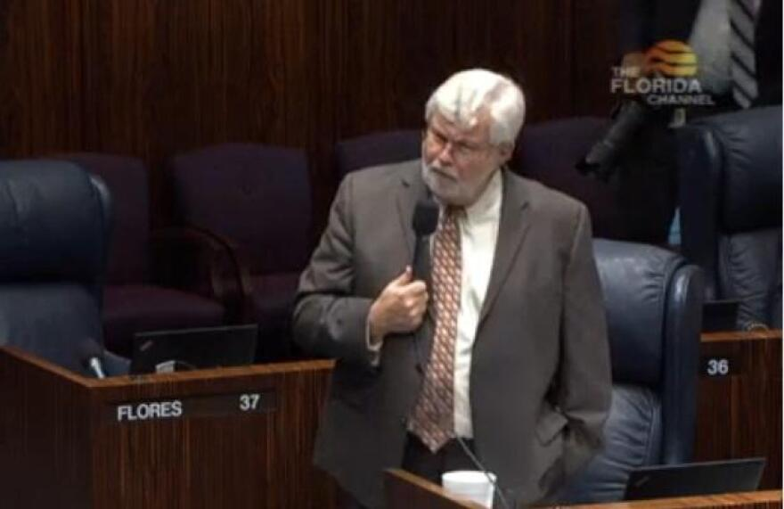 Sen. Jack Latvala speaks on the Senate Floor.