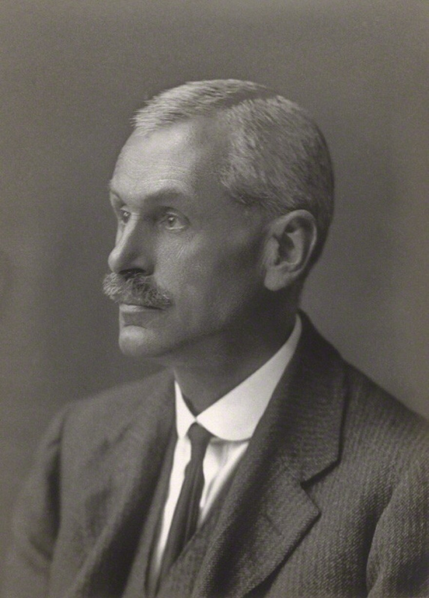 The alleged book thief himself, Arthur Edwin Boycott, in 1921. Presumably Boycott, who was by that time an accomplished scholar, had relinquished his (again, alleged) nefarious ways.
