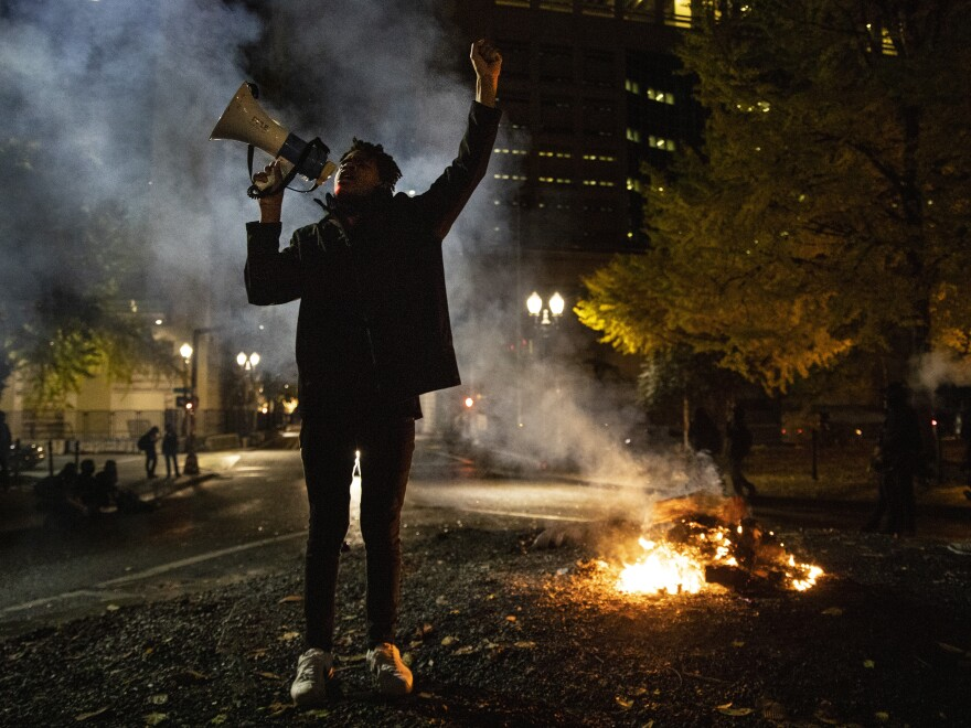 The energy behind the Black Lives Matter movement this year, which included this protest in Portland, Ore., has led activists to push for changes to juvenile justice practices.