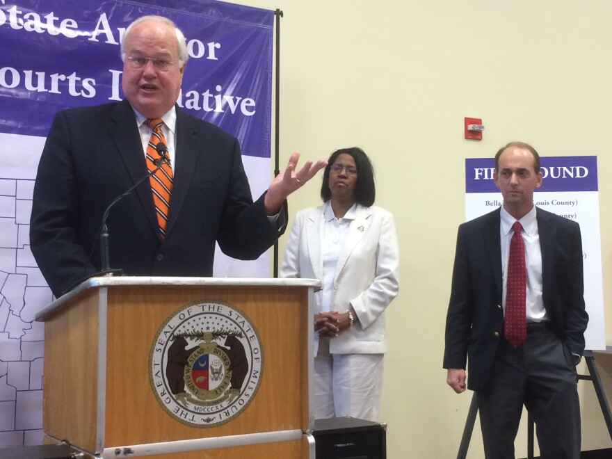 St. Charles County Executive Steve Ehlmann is supportive of Schweich's efforts to clamp down on municipal courts that take in more money than allowed.
