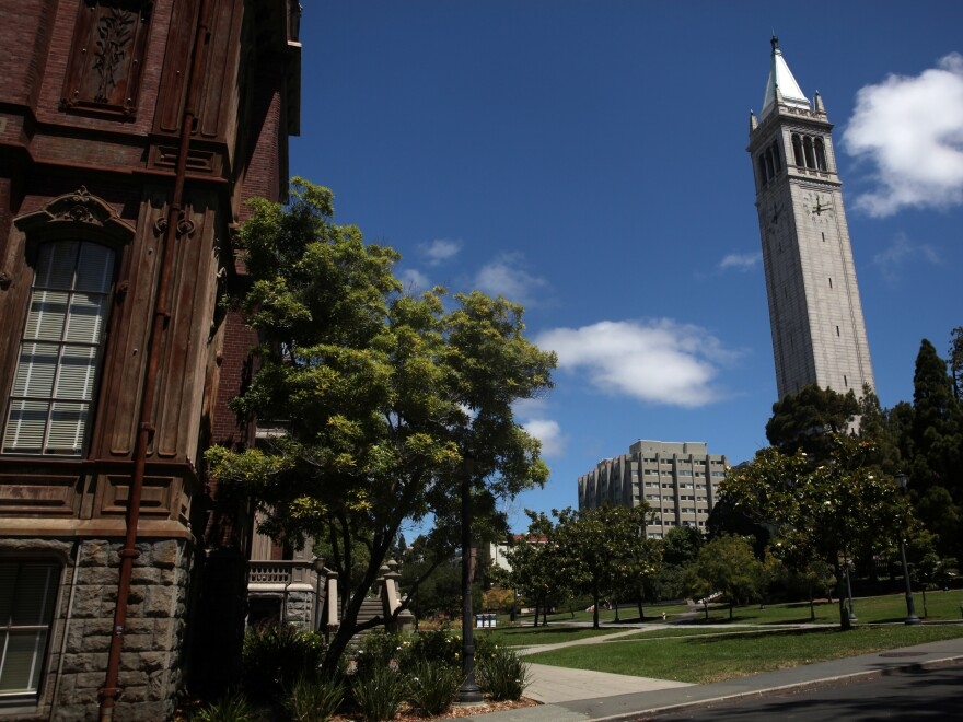 The UC Berkeley campus sits empty on July 22.The University of California admitted at least 64 students over more qualified applicants due to the students' connections to university staff or donors, according to a California state audit released Tuesday.