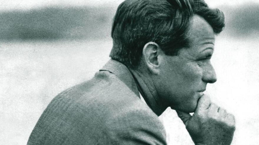 Robert F. Kennedy is remembered as a liberal icon, but biographer Larry Tye says his views changed over the course of his career.