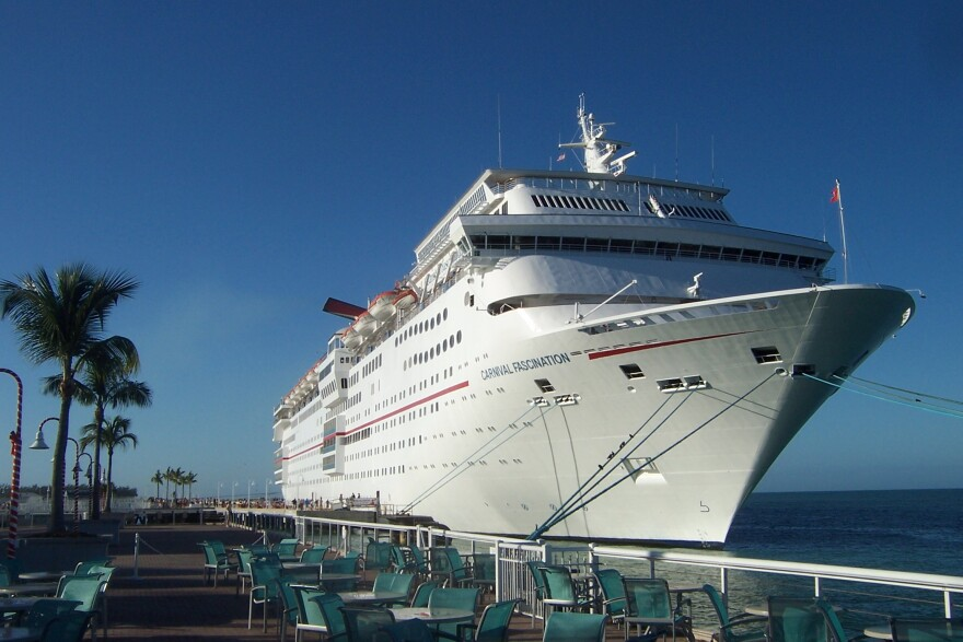 Carnival Fascination, docked in Key West in 2011
