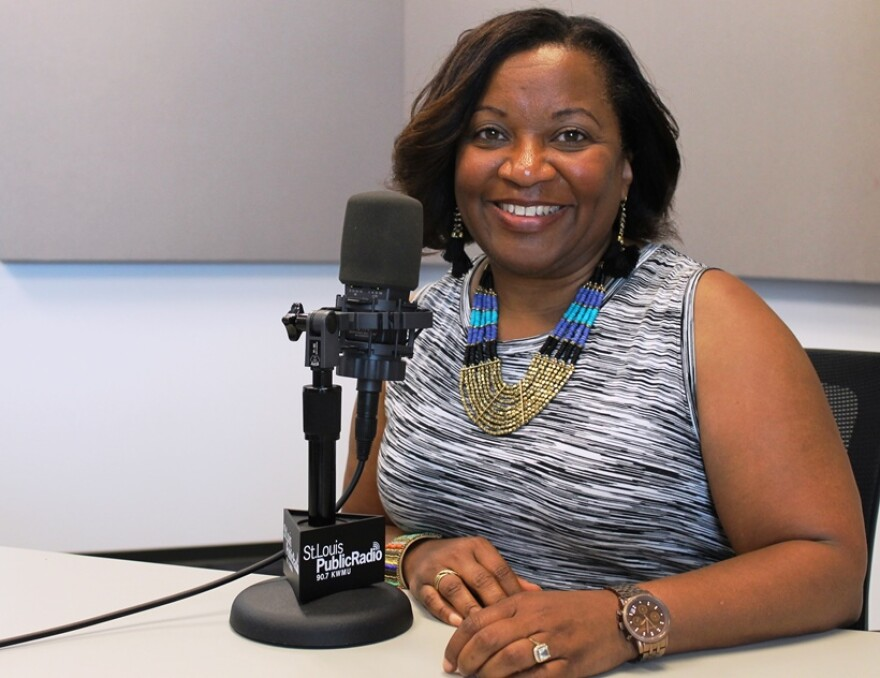 """Felicia Shaw, new executive director of St. Louis' Regional Arts Commission, said she had a sense that this community would now """"be open to change"""" after the events of Ferguson."""