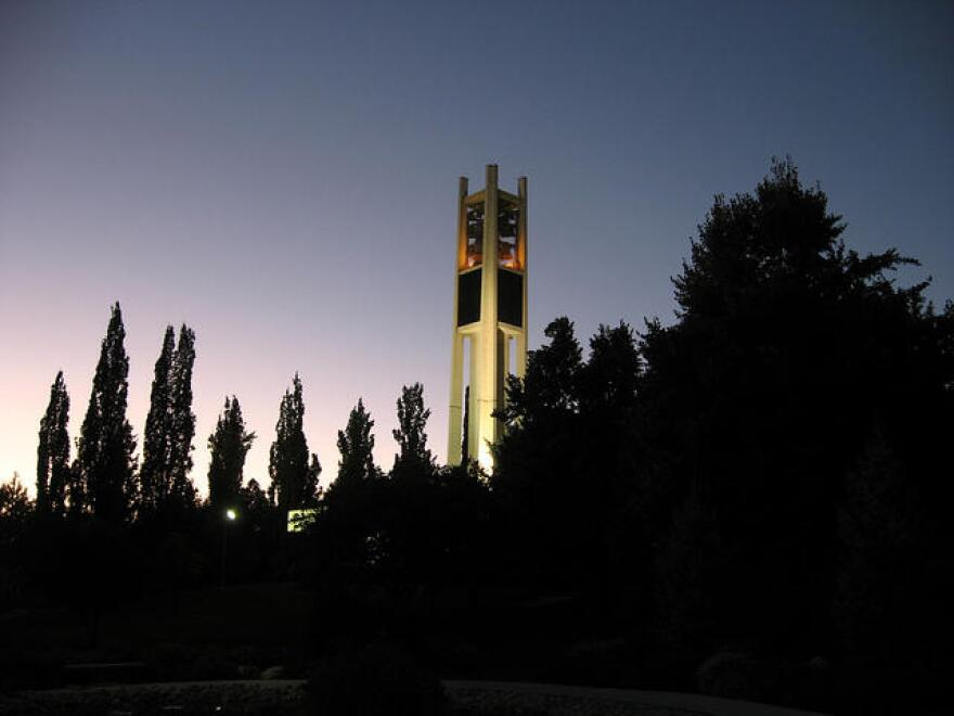 Photo of Carrillon Tower.
