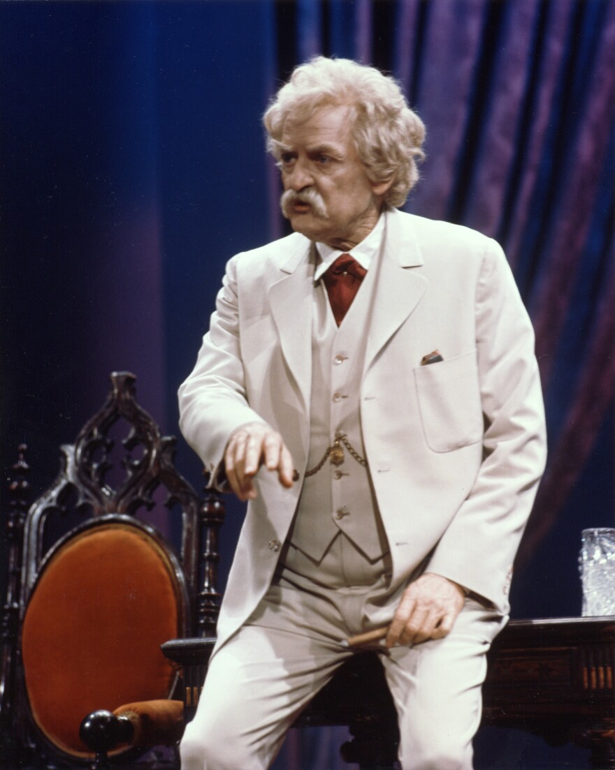 "Holbrook performed his one-man show <em>Mark Twain Tonight </em>for decades. He loved it, but in 2011, he told NPR's Neal Conan that it took him a long time to break out of that role. ""I was behind this mask, this disguise. And I finally had to be brave enough to get out,"" he said."