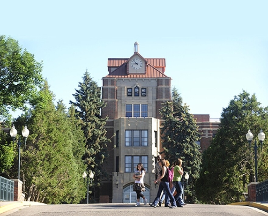 McMullen Hall at Montana State University Billings