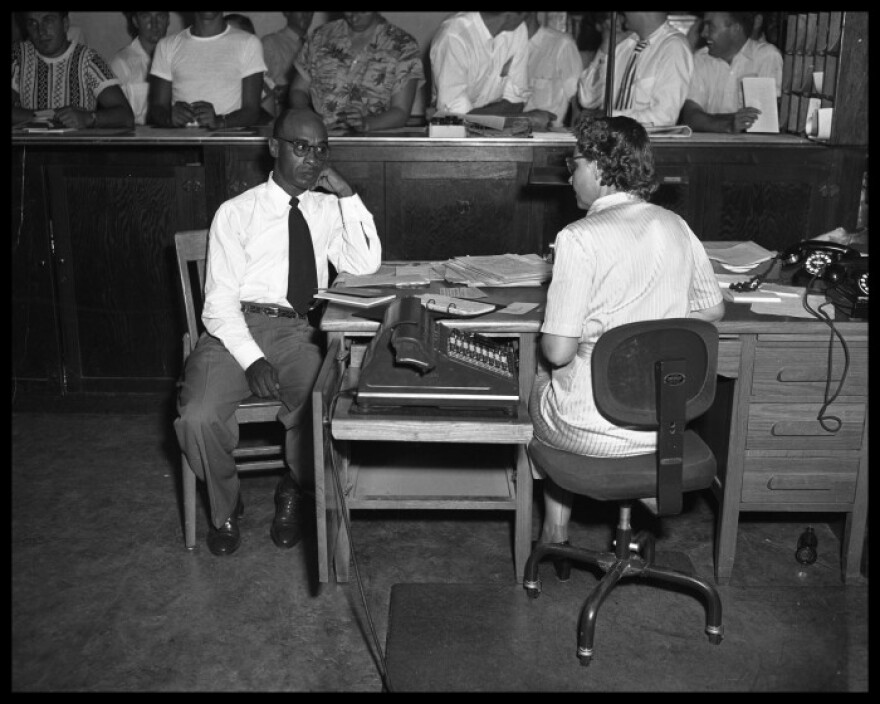 "Heman Sweatt was admitted to UT Austin's law school in 1950 after winning a court case challenging the ""separate but equal"" concept."