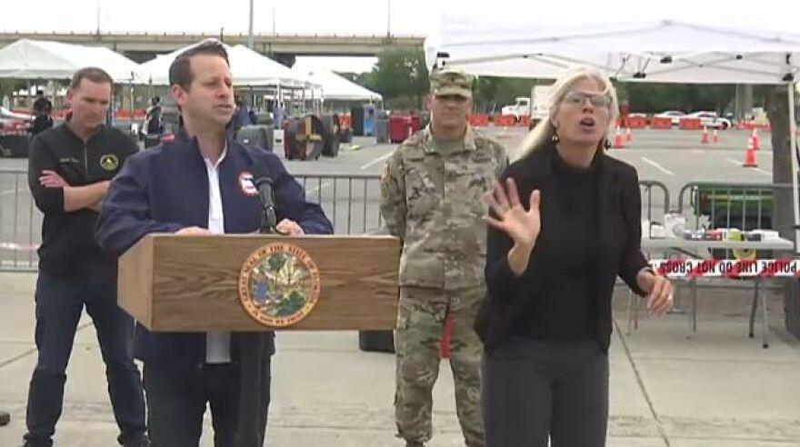 Jared Moskowitz is Florida's emergency management chief,.