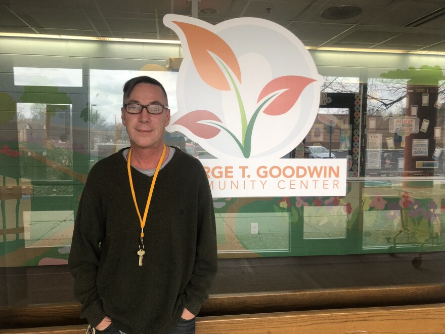 Toby Salyers is executive director of the George T. Goodwin community center in Indianapolis.