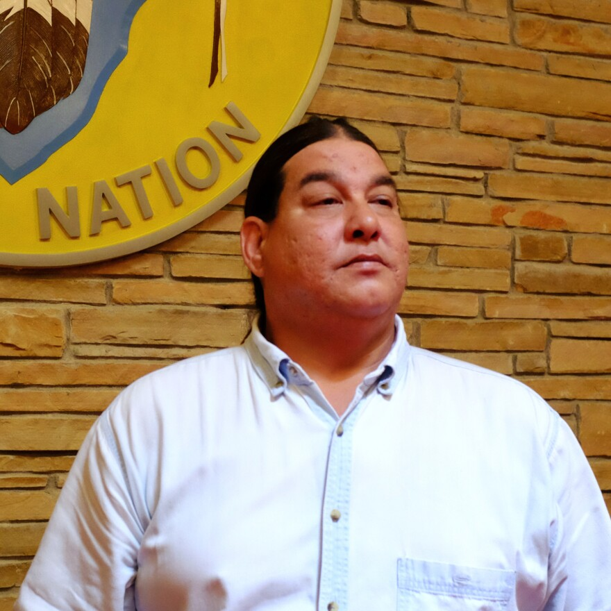 Everett Waller, chairman of the Osage Nation Minerals Council.