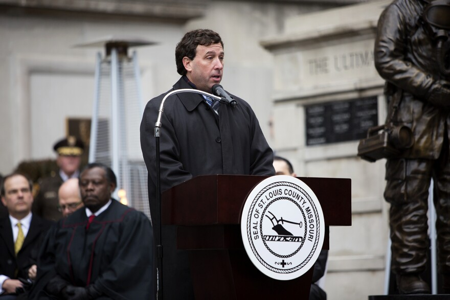 "Under a plan released Monday to merge St. Louis and St. Louis County, St. Louis County Executive Steve Stenger would become the first ""metro mayor"" of the merged government."