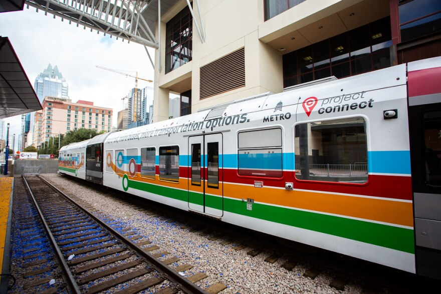 The new Capital Metro downtown station opened next to the Austin Convention Center last month.