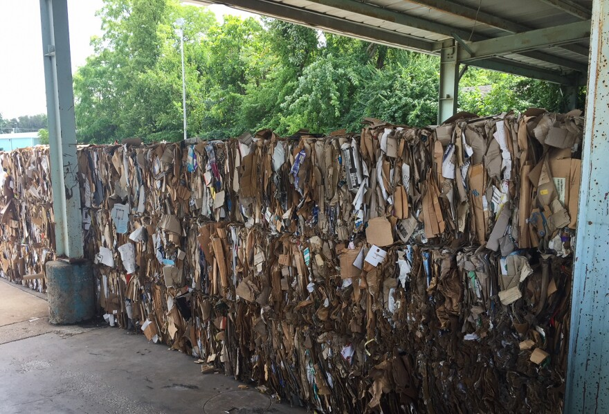 Kirkwood plans  to suspend curbside recycling and plans to retrofit the Francis Scheidegger Recycling Depository on South Taylor Avenue to accept separated recyclables.  Aug. 21, 2018