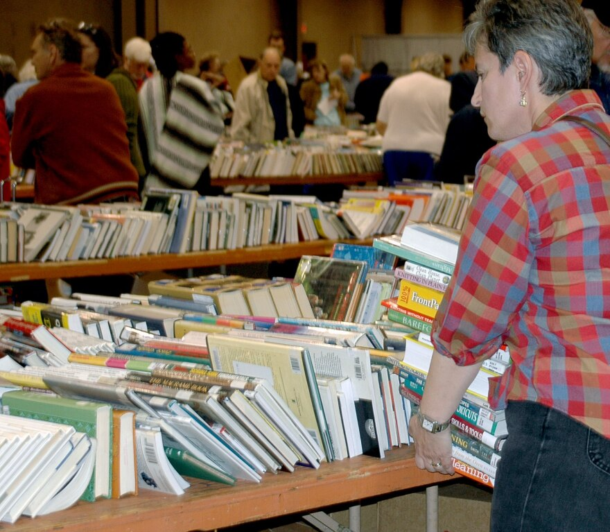 The Friends of the Library Fall Book Sale supporting Dayton Metro Library is this weekend.