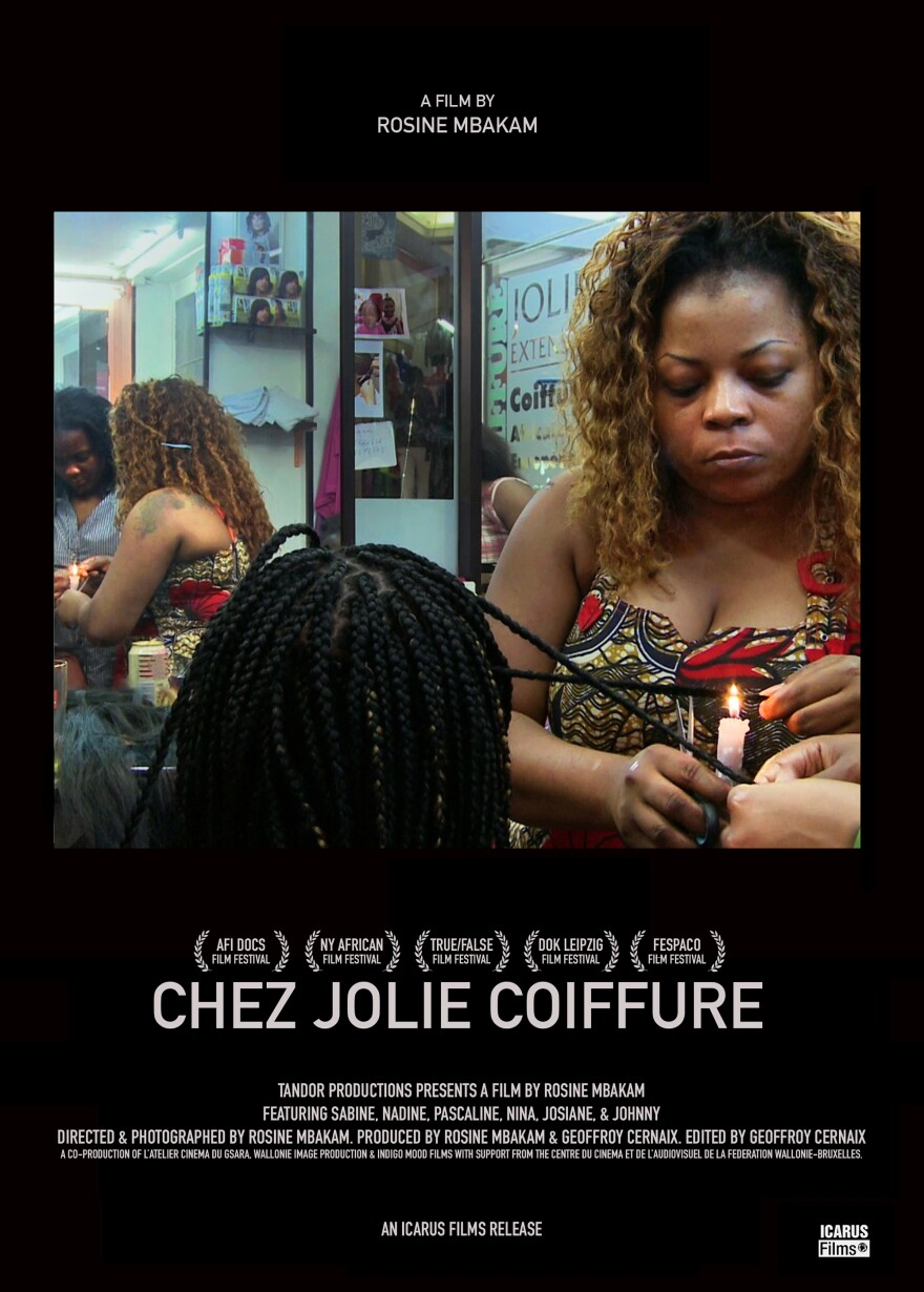 In 'Chez Jolie Coiffure,' a hair salon in Brussels becomes a point of community for migrant African women who have left everything behind in search of new opportunities abroad.