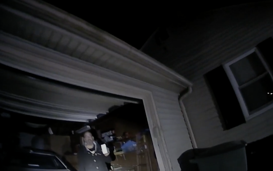 Body camera footage from Columbus Police officer Adam Coy just after the fatal shooting of Andre Maurice Hill on Dec. 22, 2020.