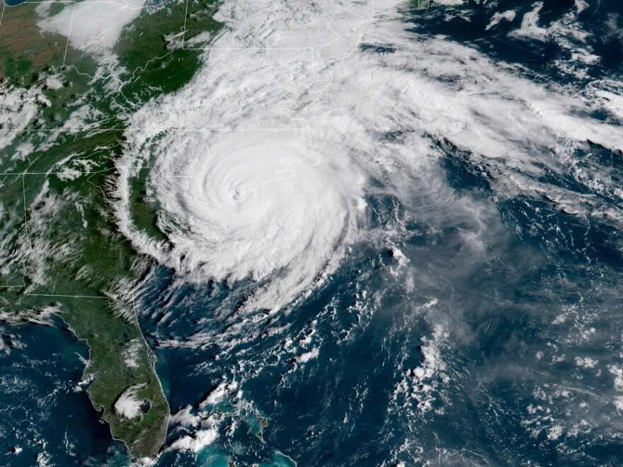 Hurricane Florence made landfall near Wrightsville Beach, N.C., around 7:15 a.m. ET Friday morning, the National Hurricane Center said.