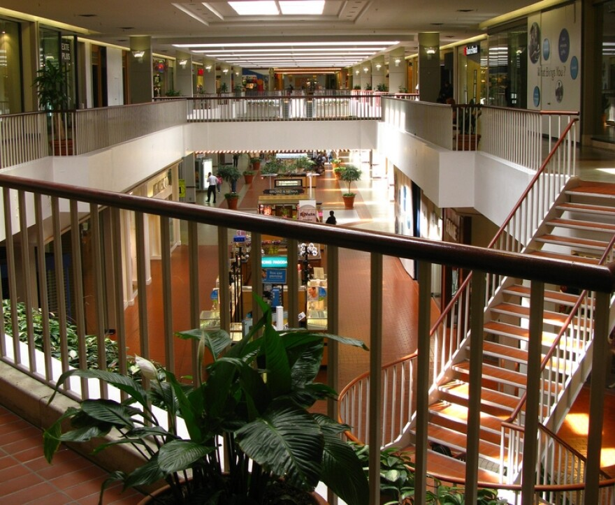 Highland Mall empty
