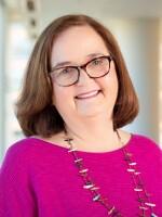 Lynn Neary at NPR headquarters in Washington, D.C., May 21, 2019. (photo by Allison Shelley)