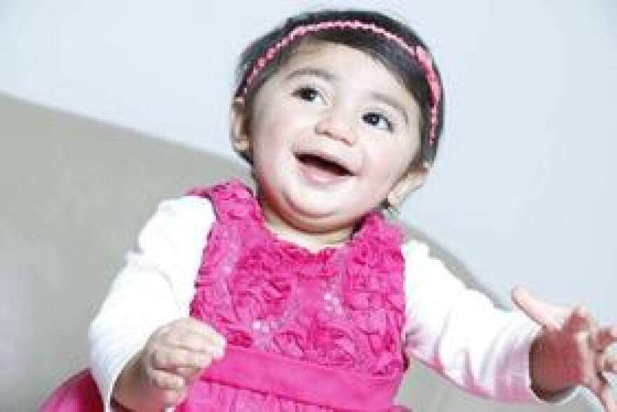 Two-year-old Zainab Mughal has a cancer called neuroblastoma which develops from immature nerve cells found in several areas of the body. She's also missing a particular antigen in her blood, an anomaly only found in people from certain areas of the Middle East.