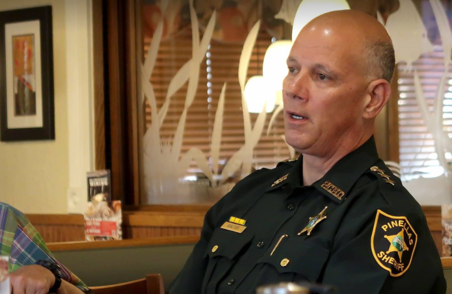 Pinellas County Sheriff Bob Gualtieri heads up the school shooting safety commission.