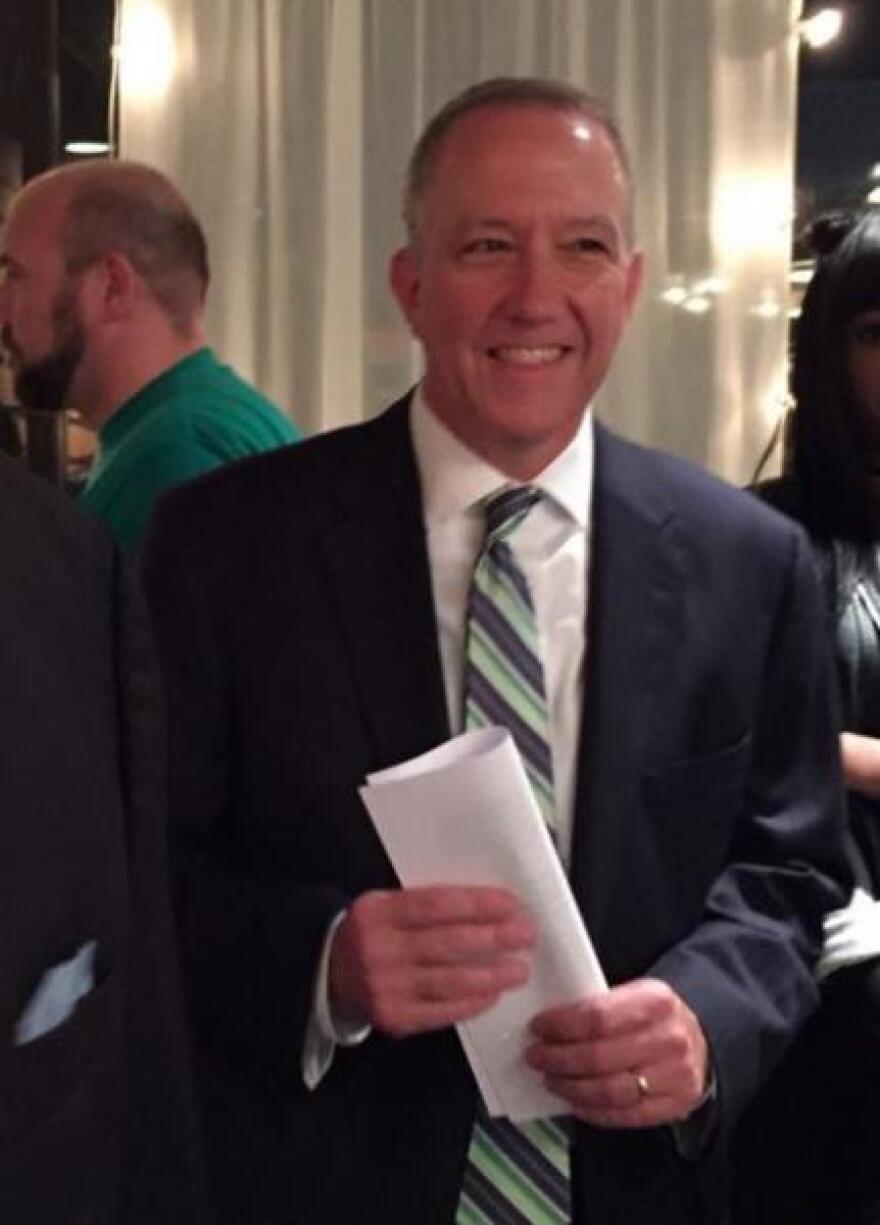 A photo of Akron Mayor Dan Horrigan.