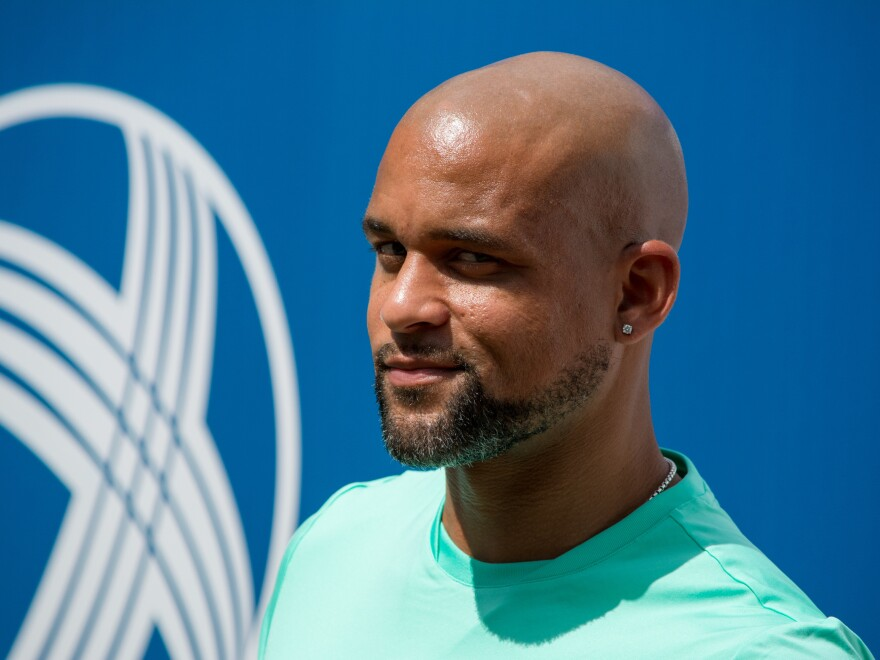 Shaun T attends the 20th Annual Arthur Ashe Kids' Day at USTA Billie Jean King National Tennis Center in 2015 in the Queens borough of New York City.