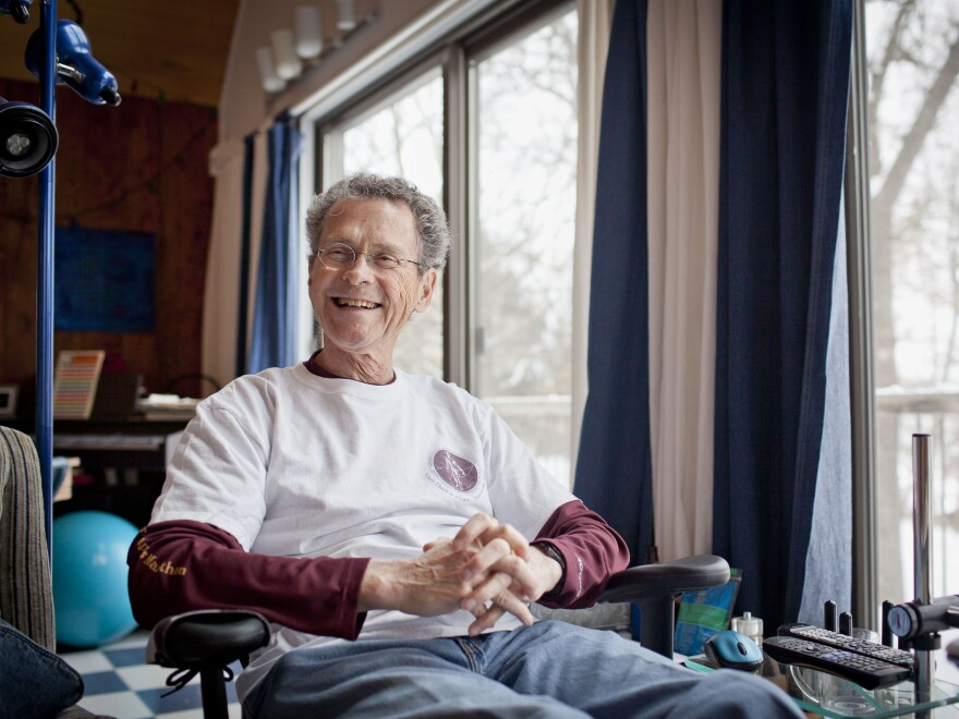 Don Wright was diagnosed with multiple myeloma in 2003 only days after completing his first marathon. Since then he has run 70 marathons in all 50 states.