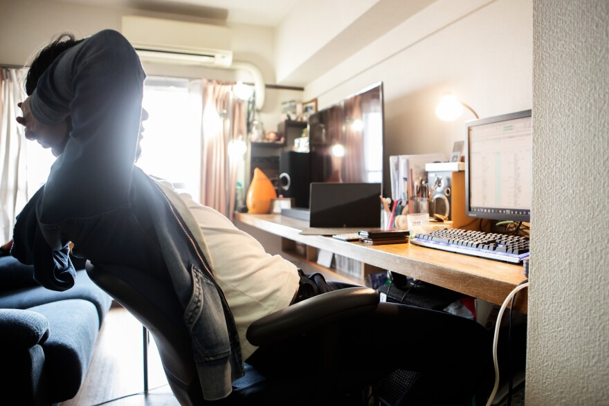 Working from home (Getty Images)
