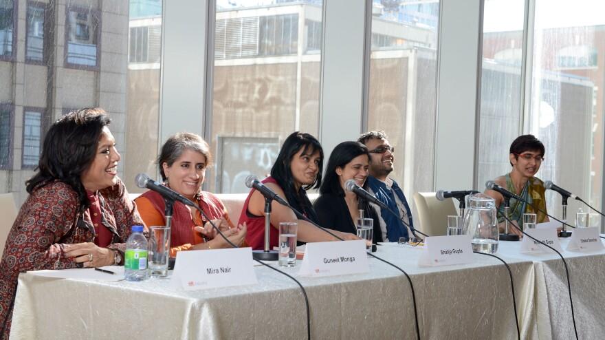 Luminaries including Mira Nair, Guneet Monga, Shailja Gupta, Nina Lath Gupta and Dibakar Banerjee attended TIFF's Asian Film Summit Banquet to discuss the growth of a new, realist South Asian cinema.