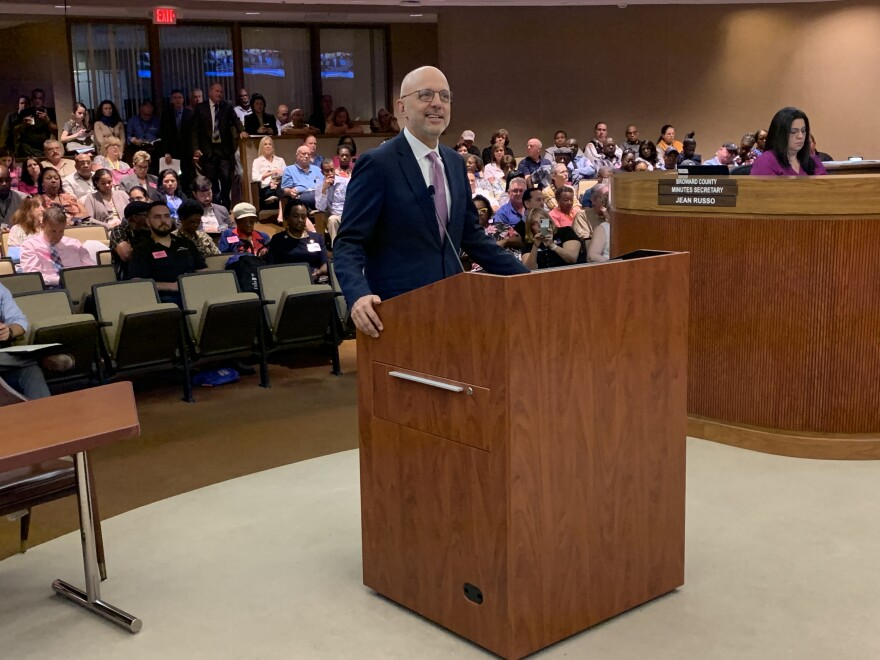 U.S. Rep. Ted Deutch on Tuesday presented to the Broward County Commission a $1 million federal grant to help fund the county's mental health and substance abuse programs.