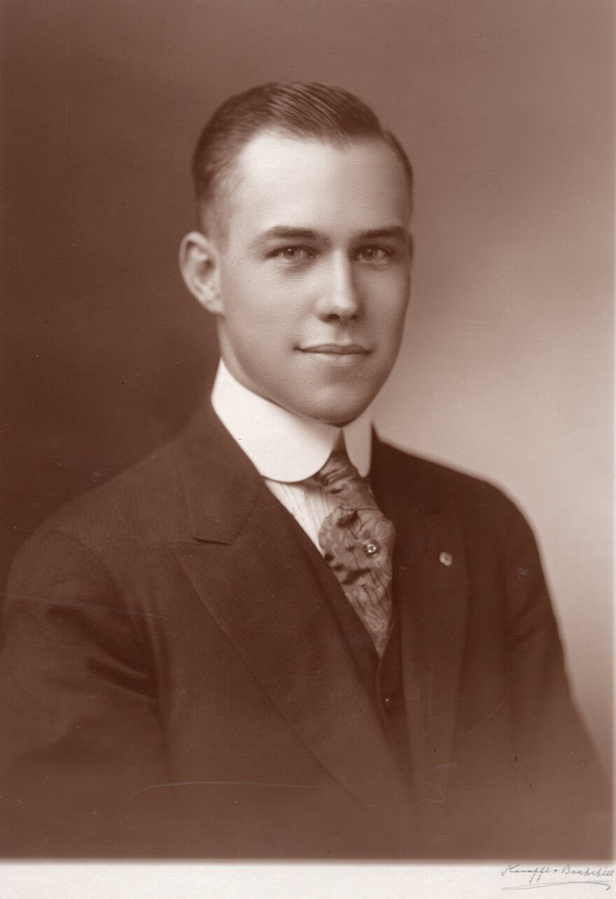 At age 24, Harry T. Burn was the youngest member of the Tennessee legislature in 1920.