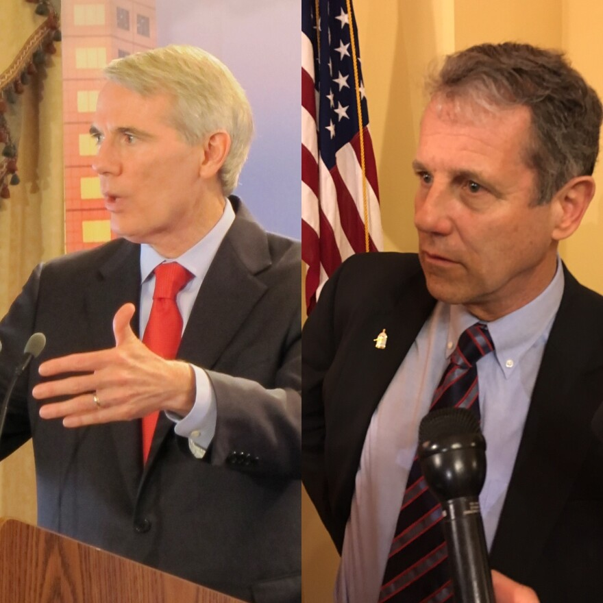 photo of Sen. Rob Portman and Sen. Sherrod Brown