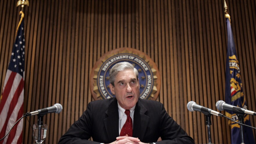 "A journalist describes Robert Mueller, pictured in 2007 when he was FBI director, as ""about as apolitical and nonpartisan a figure as you could find in Washington."""