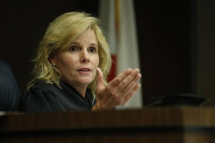 Broward Judge Carol-Lisa Phillips is presiding on the case of the ballots missing the medical marijuana amendment.