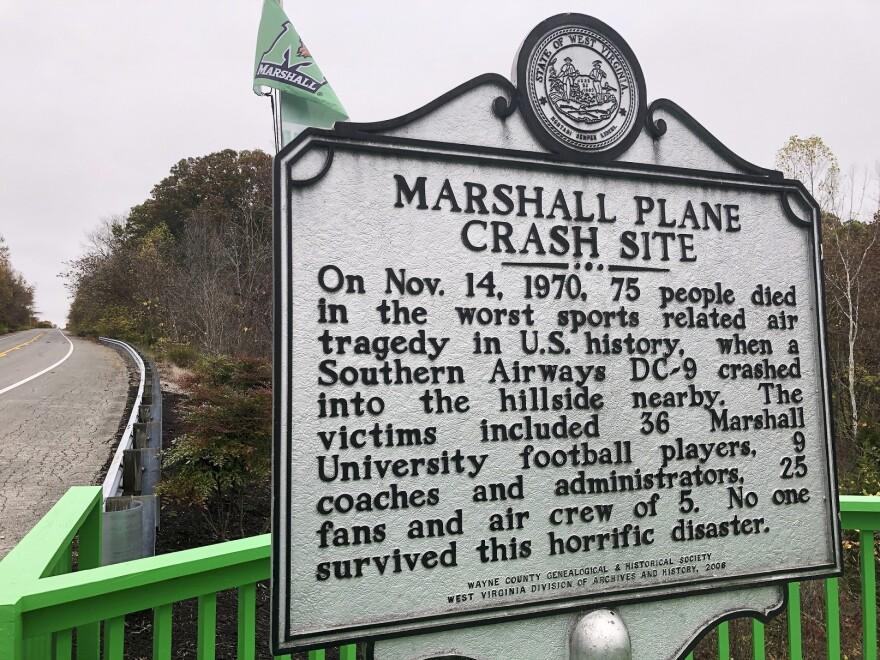 Marshall Plane Crash