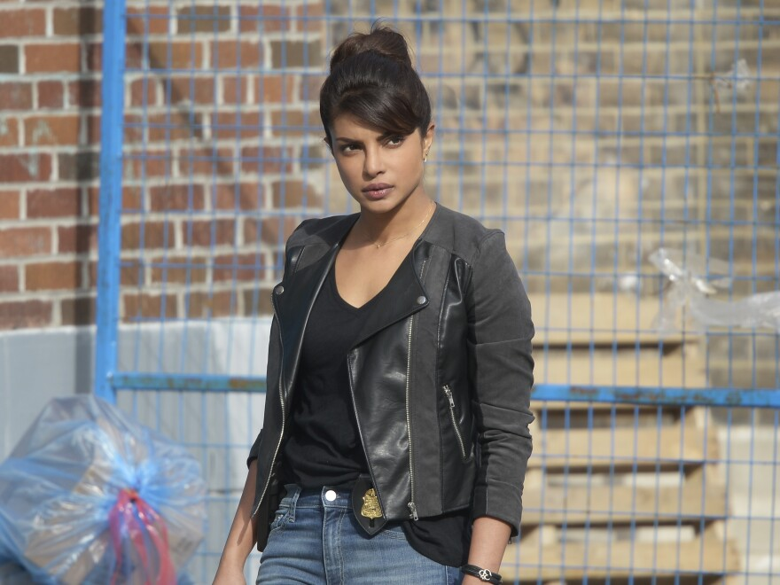 Priyanka Chopra plays Alex Parrish in ABC's <em>Quantico.</em>
