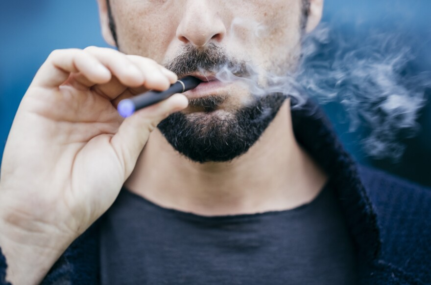 "Two San Francisco ordinances would prohibit the sale of e-cigarettes <a href=""https://sfgov.legistar.com/View.ashx?M=F&ID=7111897&GUID=7C3912E3-BB56-420D-896E-6FEA1391287D"">in brick-and-mortar stores and ban online sales</a> to shipping addresses in the city."