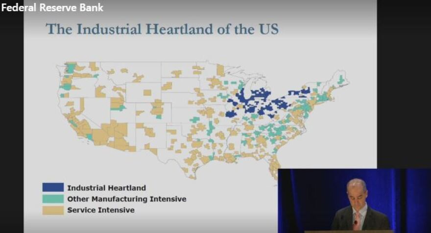 Map of Industrial Heartland