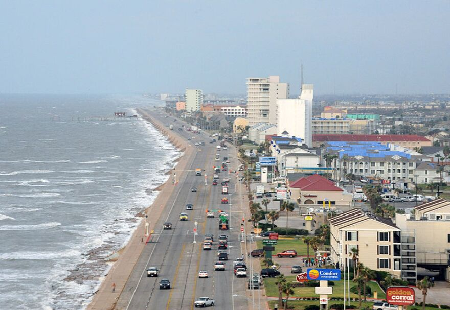 A state order means Galveston beaches are open this weekend, despite the wishes of some local officials for them to remain closed. The population tends to surge on the island during summer holidays.