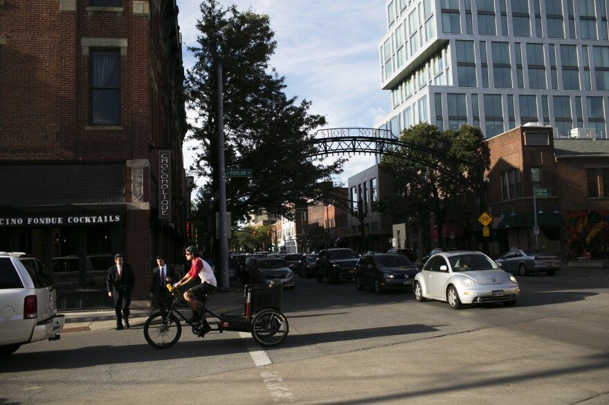 The Short North neighborhood in Columbus sparked the city's downtown revitalization.