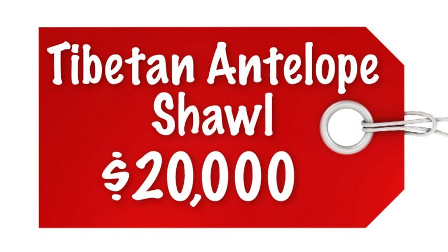 Tibetan Antelope Shawl $20,000