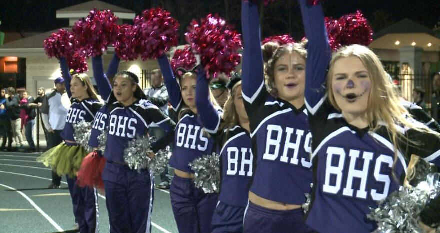 Barberton cheerleaders