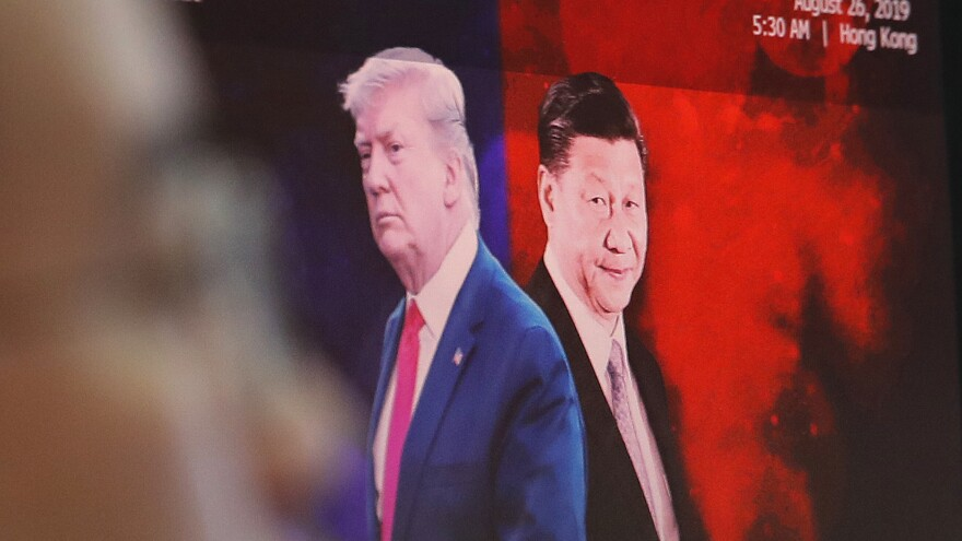 President Trump and his Chinese counterpart, Xi Jinping