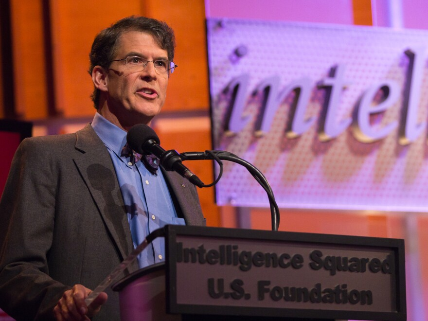 """Eben Alexander describes a near-death experience he had in 2008 while arguing in favor of the motion """"Death Is Not Final."""""""