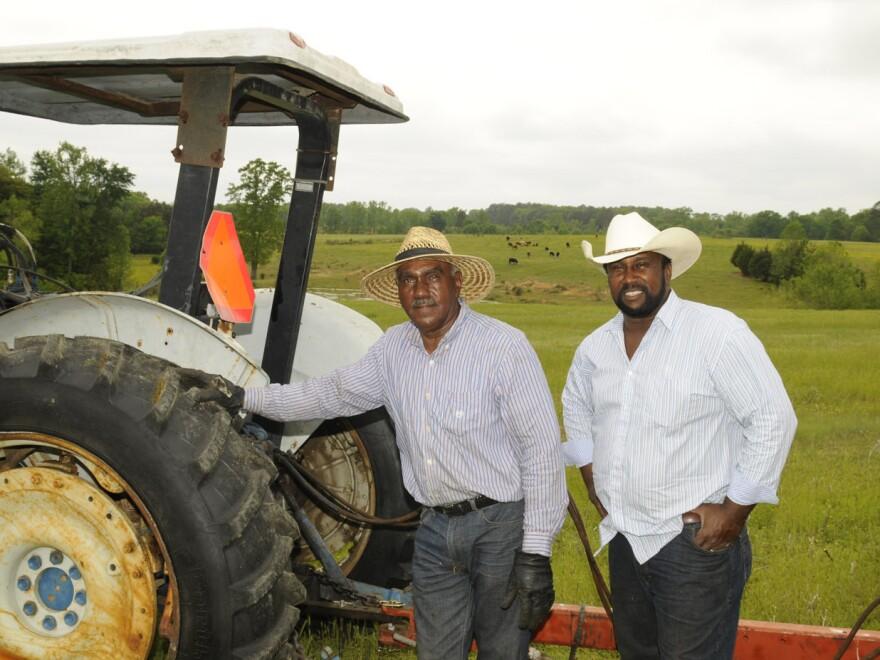 John Boyd Jr., with his father, John Boyd Sr.