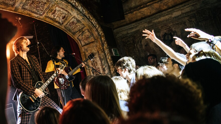 The Amazons performing live at Omeara in London, recorded live for <em>World Cafe</em>.