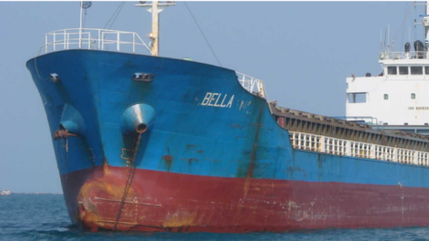 M/T Bella's cargo has been seized as it was carrying petroleum from Iran to Venezuela, the U.S. Department of Justice says.